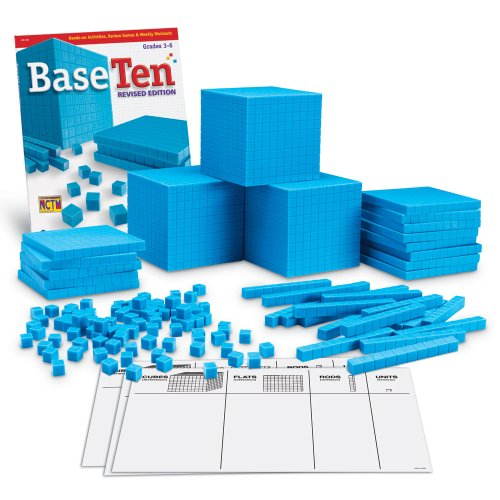 - Learning Resources Plastic Base Ten Class Set