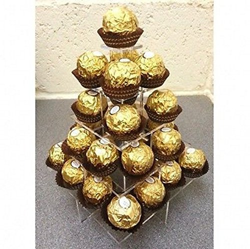 (Super Cool Creations Ferrero Rocher/Sweet Stand - Square - 5 Tiers)