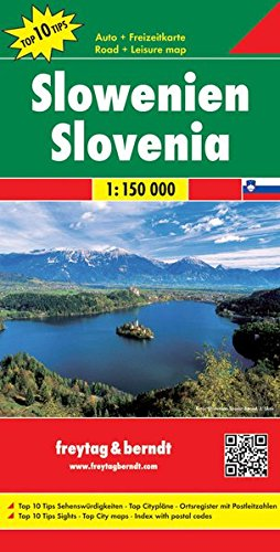 Slovenia ; 1/150.000 (English, French, German, Italian and Spanish Edition)...