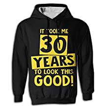 It Took 30 Years To Look This Good Man Fashion Hoodie Sweatshirts Hooded Sweater With Pocket 3D Print