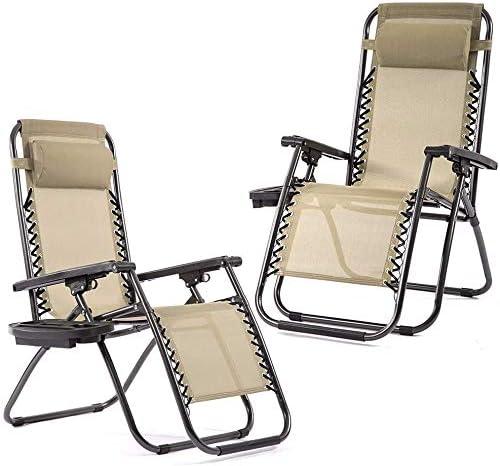 Zero Gravity Chairs Set of 2