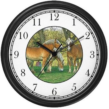 Horse Wall Clocks Kritters In The Mailbox Horse Wall Clock