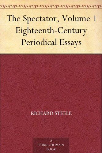 periodical essay addison and steele