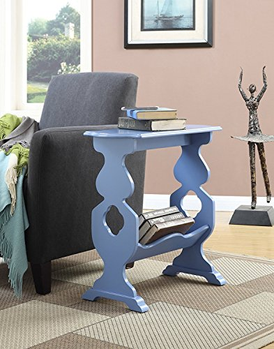 Indoor Multi-function Accent table Study Computer Desk Bedroom Living Room Modern Style End Table Sofa Side Table Coffee Table End Table Magazine Rack by DASII