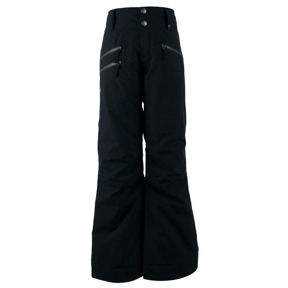Obermeyer Kids Girl's Jessi Pants (Little Kids/Big Kids) Black Pants XL (18 Big Kids)