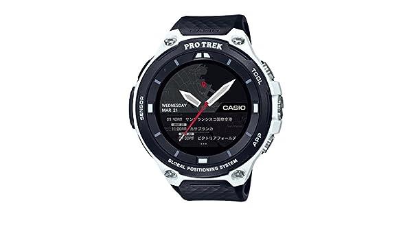 Casio Pro Trek Reloj Inteligente de Resina de Cuarzo para ...