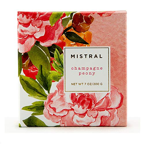 (Mistral Soap Sparkling Peony - 2 bars, 200 Grams each)