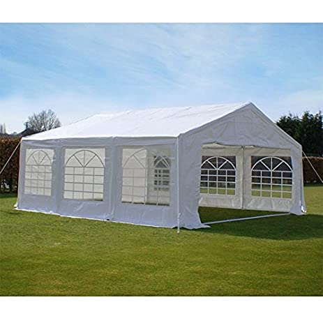 Peaktop 20u0027 X20u0027 Heavy Duty Carport Party Wedding Tent Car Shelter Canopy Gazebo Pavilion & Amazon.com: Peaktop 20u0027 X20u0027 Heavy Duty Carport Party Wedding Tent ...