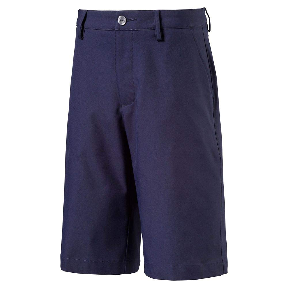 PUMA Boy's Golf Boys Pounce Short Jr, Pct, Small by PUMA