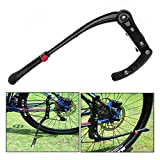 Xrten Aluminum Alloy Adjustable Mountain Bicycle Kickstand, Non-Slip Road Cycling Kick Stand Support