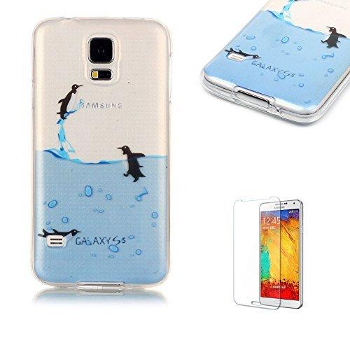 7 opinioni per per Samsung Galaxy S5 Custodia,Funyye Morbida Sottile TPU Gel Silicone Cover