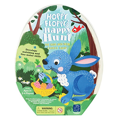 Educational Insights Hoppy Floppy's Happy Hunt Preschool Game ()