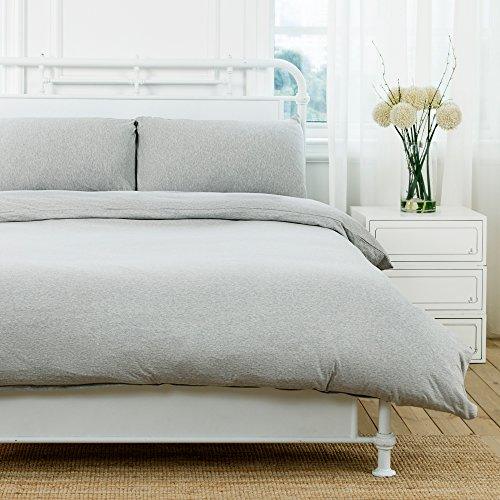queen duvet cover grey - 9