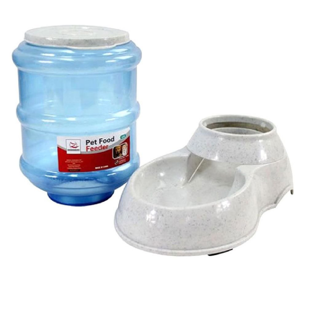 3.5L Pet Automatic Feeders Pet Drinkers Animal Drinking Feeding Machine Water Food Bowl by Defonia Petsupplies (Image #1)