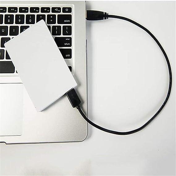 モバイルハードディスク、USB3.0モバイルハードドライブの高速転送40ギガバイト/ 60ギガバイト/ 80ギガバイト/ 120ギガバイト/ 160ギガバイト/ 320ギガバイト/ 500ギガバイト/ 750ギガバイト/ 1TB大容量メモリ (Color : White, Size : 1TB)