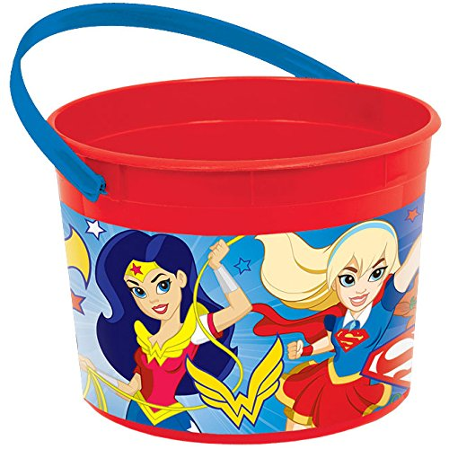 Favor Container | DC Super Hero Girls™ Collection | Party Accessory ()