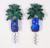 Handpainted Palm Tree Corkscrew Wine Bottle Opener With - Best Reviews Guide