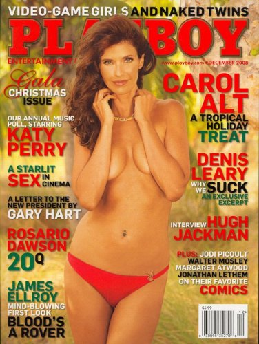 Playboy, December 2008 Issue