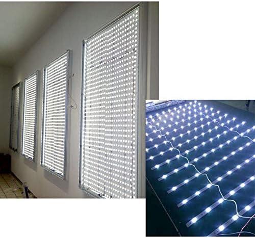 Tira de luz difusa LED persiana enrollable lámpara con caja de luz de película suave, fuente de luz al aire libre impermeable: Amazon.es: Amazon.es