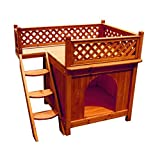 Best petmate igloo dog house large - Dog House Furniture With Staircase Balcony Ventilated, Wood Review