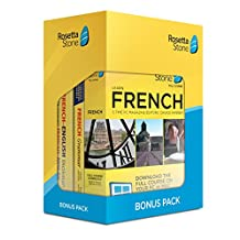 Learn French: Rosetta Stone Bonus Pack (24 Month Subscription + Lifetime Download + Book Set)
