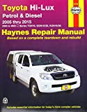 img - for Toyota Hilux 4x4 Automotive Repair Manual: 2005-2015 book / textbook / text book
