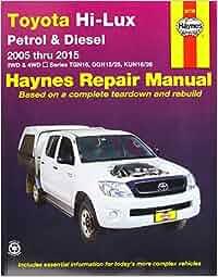 Toyota Hilux 4X4 (Aus): 2005-2015: Amazon.es: Haynes Publishing: Libros en idiomas extranjeros