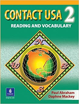 Book Contact USA 2:Reading and Vocabulary
