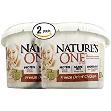 Bundle Pack of 2 Nature's One Natural Freeze Dried Chicken Natural Cat Snack...