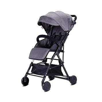 PLDDY sillas de paseo Cochecitos de bebé, trolley para niños ...