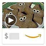 Amazon eGift Card - Cookies for Santa (Animated) [American Greetings]