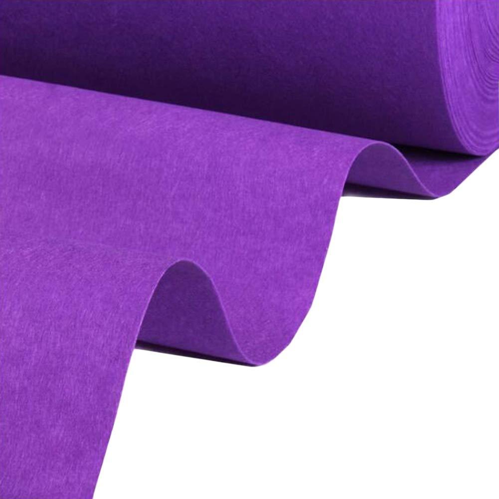 JIAJUAN 通路 ランナー 紫の ラグ 厚い 丈夫 結婚式 カーペット 儀式 大 イベント 使い捨て 床 じゅうたん マット、 2mm、 複数のサイズ (色 : A, サイズ さいず : 1.5x100m) 1.5x100m A B07RY2B72J