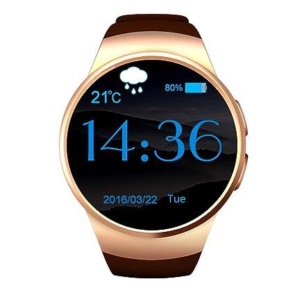 Amazon.com: LGYD Smartwatch KW18 Bluetooth Smart Watch 1.3 ...
