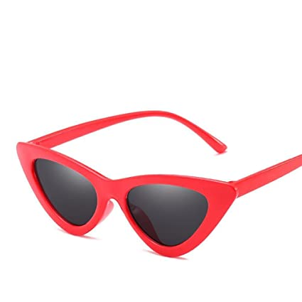 BiuTeFang Gafas de Sol Mujer Hombre Polarizadas Ojo de Gato Gafas de Sol Pequeña Caja Gafas