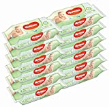 Huggies Baby Wipes Natural Care with Aloe