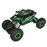 Web Kreature Radio Control 4WD Rally Rock Crawler Monster Truck, Green