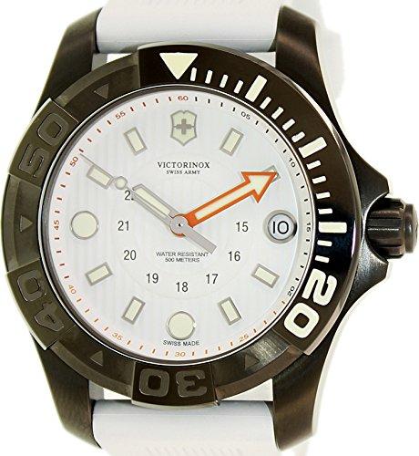 Victorinox Swiss Army Women's Dive Master 500 241556.1 White Rubber Swiss Quartz Watch