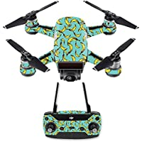 Skin for DJI Spark Mini Drone Combo - Bananas| MightySkins Protective, Durable, and Unique Vinyl Decal wrap cover | Easy To Apply, Remove, and Change Styles | Made in the USA
