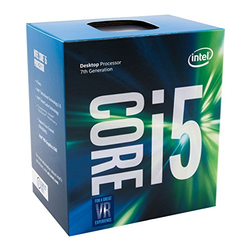 Intel Core i5-7500 LGA 1151 7th Gen Core Desktop Processor (BX80677I57500) by Intel
