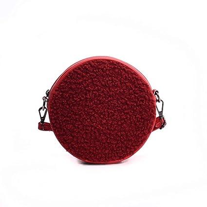 Jiuyizhe Pequeñas Carteras de Monedero Monedero teléfono Bolsas de Hombro Bolsos Crossbody para Mujeres (Color