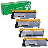 GREENSKY 4Pack New Compatible Brother TN630 TN660 Toner Cartridge Black for Brother HL-L2340DW HL-L2300D HL-L2380DW MFC-L2700DW L2740DW DCP-L2540DW L2520DW HL-L2320D MFC-L2720DW L2740DW Printer