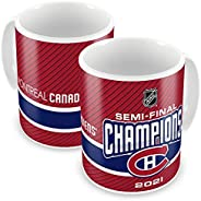 Montreal Canadiens Semi Finalist Champs 15oz Ceramic Coffee Mug