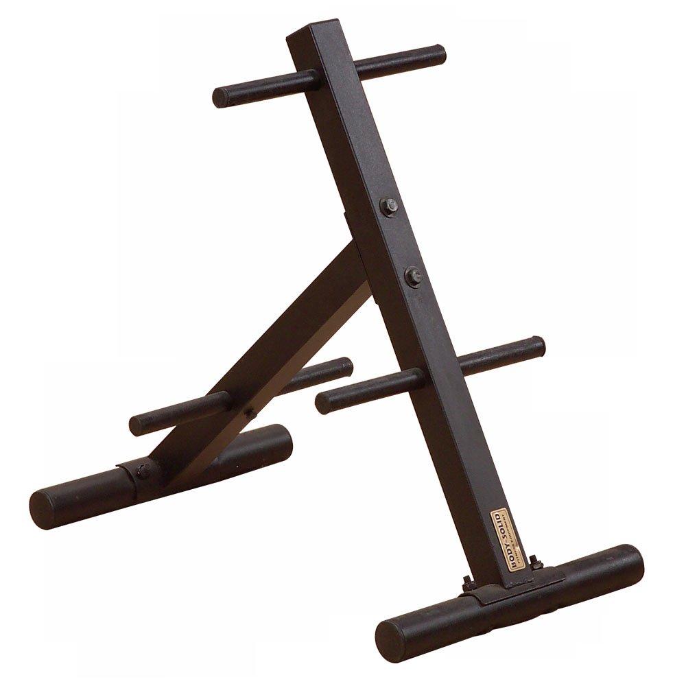 Body-Solid Scheibenständer   Hantelscheibenständer   Hantelscheibenablage   Gewichtsablage SWT-14