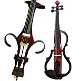 Leeche Handmade Professional Solid Wood Electric Cello 4/4 Full Size Silent Electric Cello-1601