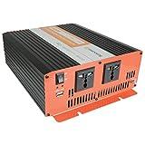 24V Softstart Power Inverter Modified Sine 1500W - 652.009UK