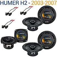 Hummer H2 2003-2007 Factory Speaker Replacement Harmony (2) R65 R4 Package