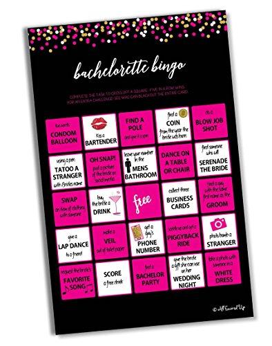 Bachelorette Bingo - Game (Bachelorette Party Scavenger Hunt)