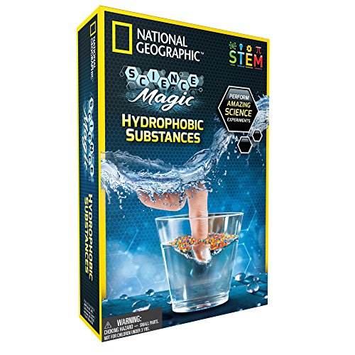 NATIONAL GEOGRAPHIC Science Magic: Hydrophobic Substances - A Complete Science Kit for Kids -