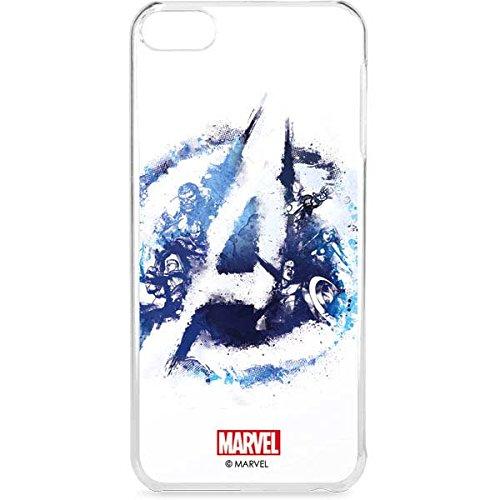 Skinit LeNu MP3 Player Case for iPod Touch 6th Gen - Officially Licensed Marvel/Disney Avengers Blue Logo Design