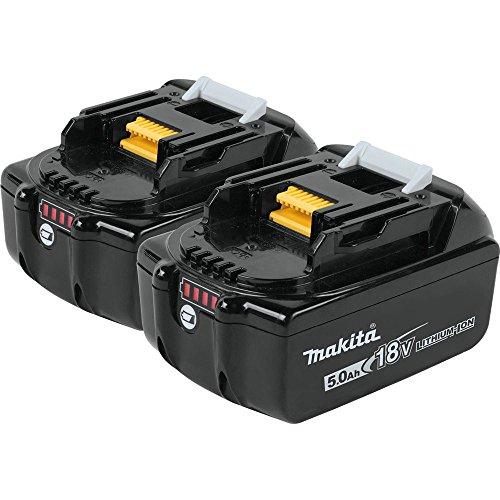Makita Bl1850B-2 18V Lxt Lithium-Ion 5.0Ah Battery Twin Pack (Makita Worm Drive)